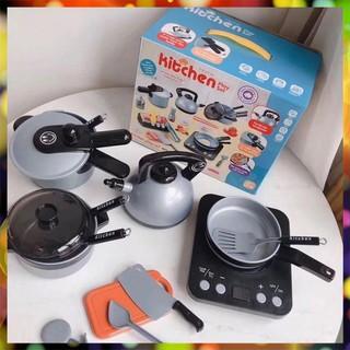 [HÀNG ĐỘC] Bộ đồ chơi nấu ăn 36 chi tiết cao cấp như thật dành cho bé Ảnh Thực Tế