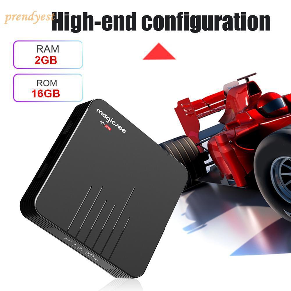 N5 Max TV Box Android 8 1 Amlogic S905X2 2+16G WiFi BT4 1