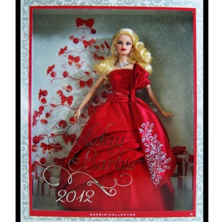 2012 Happy Holiday Barbie Doll
