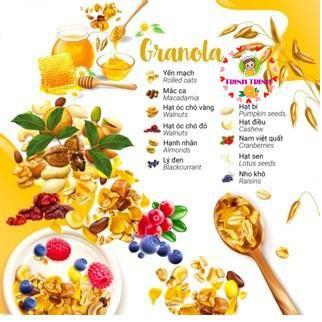 Homemade Granola - Ngũ cốc ăn kiêng