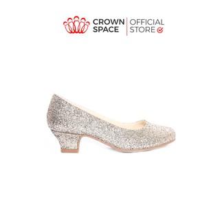 Giày Cao Gót Điệu Đà Cho Bé Gái Crown UK Princess Ballerina CRUK391 Cao Cấp Kiểu Dáng Sang Trọng Size 28-36 2-14 Tuổi thumbnail