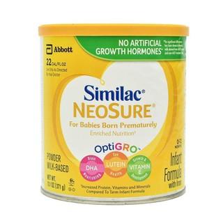(Date 2022) Sữa Bột Mỹ Similac Neosure Cho Trẻ Thiếu Tháng Từ 0-12 Tháng - 371g Mỹ thumbnail
