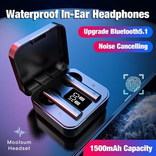 Air 2s TWS Wireless Bluetooth Sport Earbuds LED Display Touch Control HiFi Stereo Headphone with Dual Mic