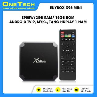 Yêu ThíchAndroid Box X96 Mini, Ram 2GB, Rom 16GB_ xem được myK+, khuyến mãi gói xem phim 300k