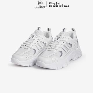 [Mã FAMAYWA giảm 10k đơn từ 50k] Giày thể thao nữ giayBOM Warriors đế cao 4 cm B1085
