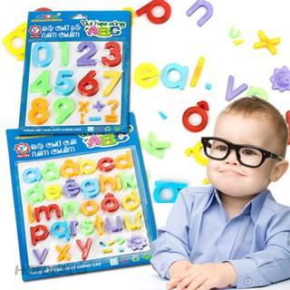 combo bảng chữ cái và số nam châm ANTONA cho bé