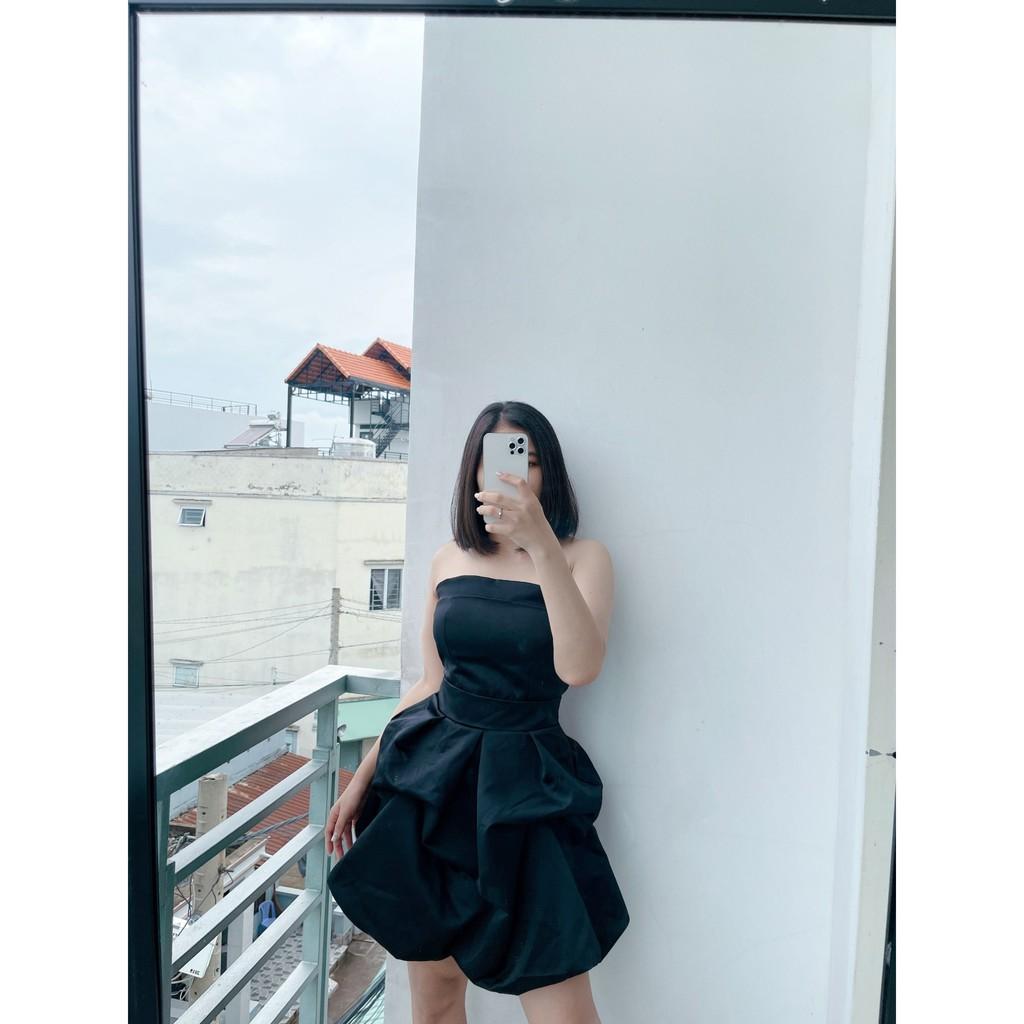 Mặc gì đẹp: Sang chảnh với Đầm dự tiệc cúp ngực xòe tầng sang chảnh Notei Dress