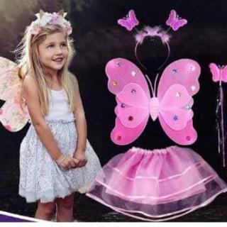 HN TOYS [Trung thu 2018] Bộ hoá trang cánh bướm thiên thần cho bé