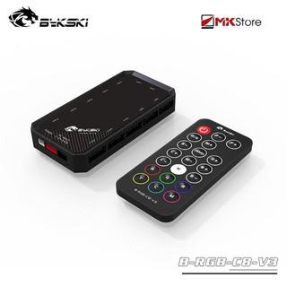 Bộ HUB Bykski Aura Sync cho Fan Coolmoon RGB kèm điều khiển thumbnail