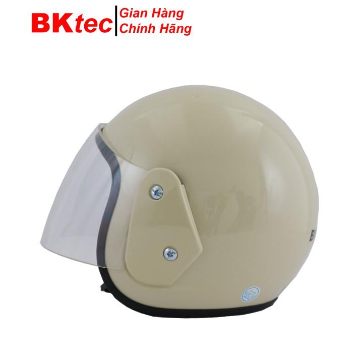 Mũ bảo hiểm 3 phần 4 đầu có kính chính hãng Bktec nón bảo hiểm cao cấp Bk19 -kem - 21861486 , 2401376617 , 322_2401376617 , 299000 , Mu-bao-hiem-3-phan-4-dau-co-kinh-chinh-hang-Bktec-non-bao-hiem-cao-cap-Bk19-kem-322_2401376617 , shopee.vn , Mũ bảo hiểm 3 phần 4 đầu có kính chính hãng Bktec nón bảo hiểm cao cấp Bk19 -kem