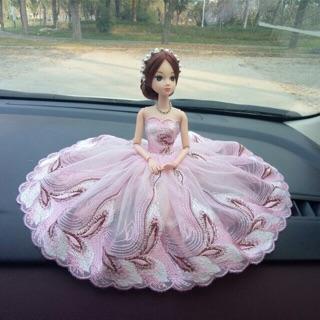 Búp bê váy hồng 12 khớp