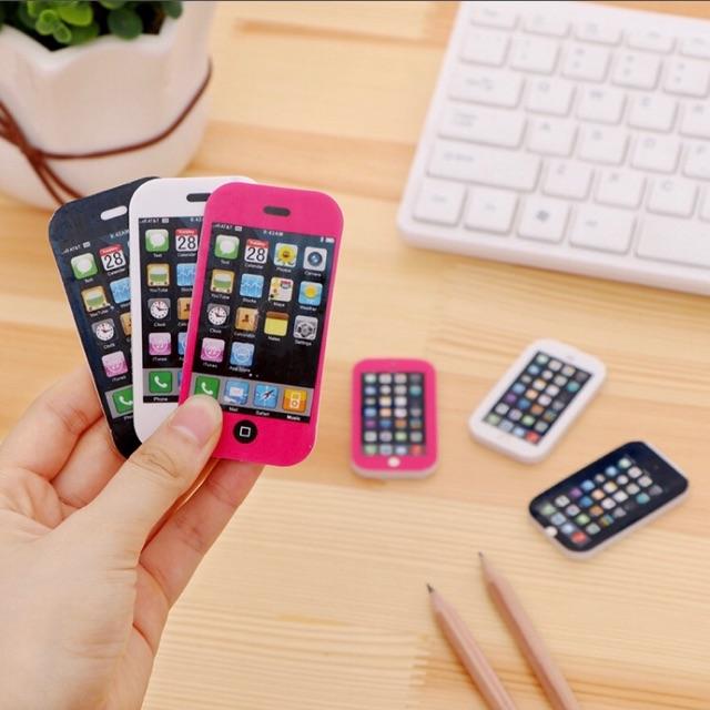 gôm tẩy hình iphone nhỏ-lớn
