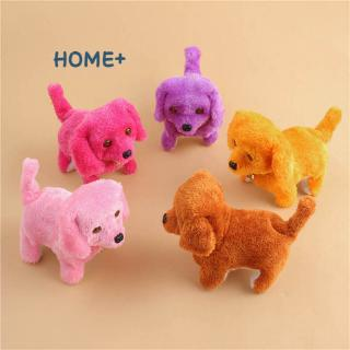 Cute Walking Barking Toy Funny Electric Short Floss Electric Moving Dog Children Kids Toys @vn