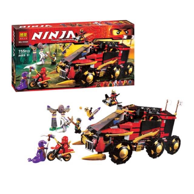 (Sale sốc) Lego ninja 10325- Siêu xe tác chiến DBX - 3185842 , 592536506 , 322_592536506 , 610000 , Sale-soc-Lego-ninja-10325-Sieu-xe-tac-chien-DBX-322_592536506 , shopee.vn , (Sale sốc) Lego ninja 10325- Siêu xe tác chiến DBX