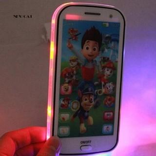 ღNK_Kids Toy Phone Educational Story English Language Learning Machine Toy Cellphone