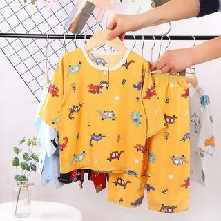 Bộ Đồ Ngủ Pajamas Cho Bé Trai Bé Gái Thời Trang 2020