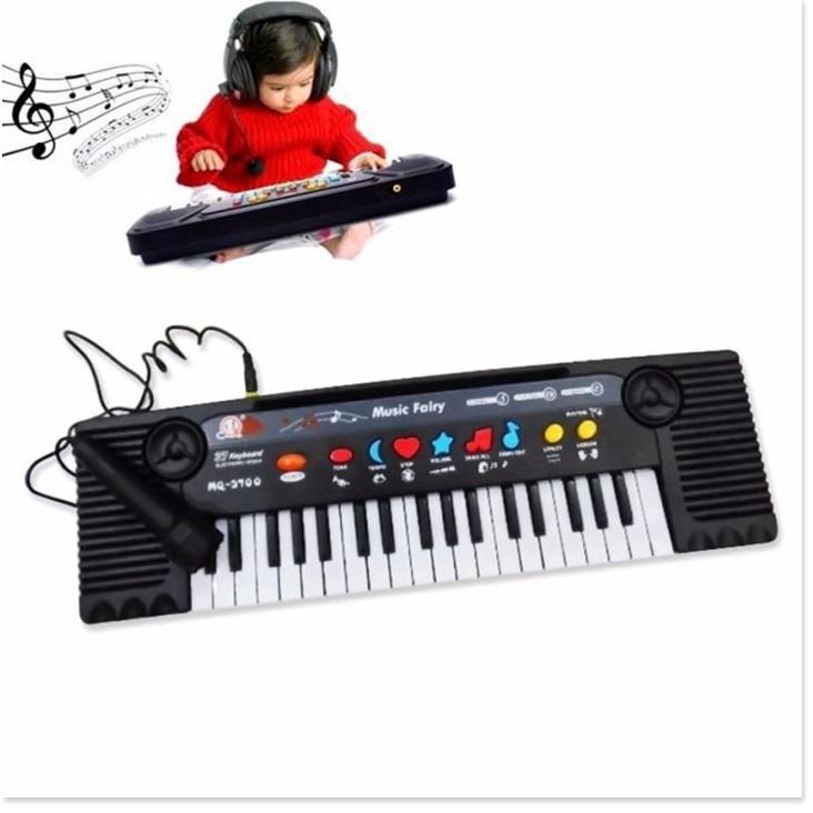 Đàn piano 🤗 Miễn Ship 🤗 Đàn organ có micmQ 3700 cho bé luyện tập phát triển khả năng âm...