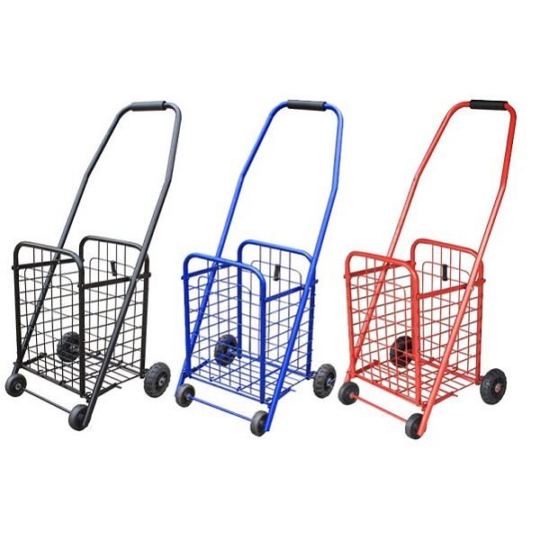 Xe kéo đi chợ đa năng cỡ nhỏ chắc chắn tiện dụng (bánh sau ngoài bọc nhựa)
