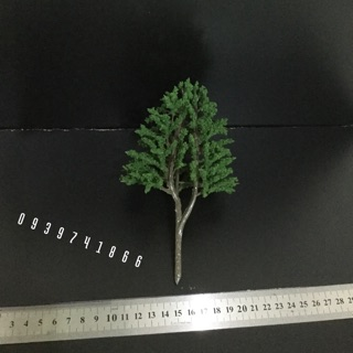 Cây giả làm mô hình (size 17cm)