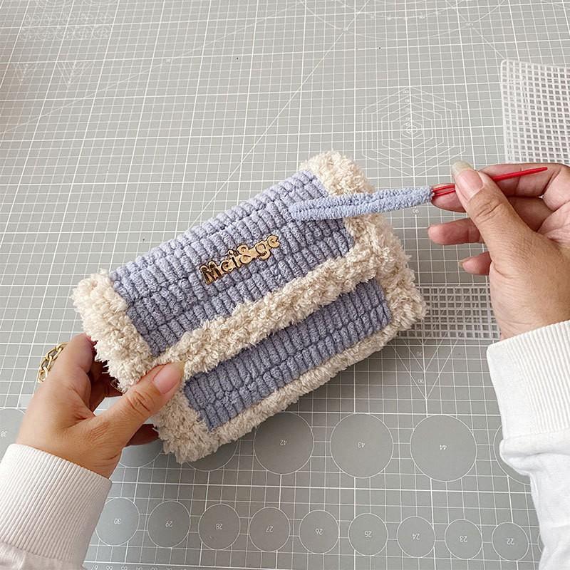 [kèm video + sẵn]Túi handmade tự đan đầy đủ phụ kiện nhiều mẫu có sẵn