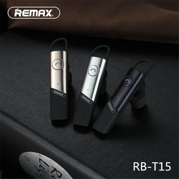 Tai Nghe Bluetooth Remax RBT15 HD Voice V4.1 Chính Hãng - 2851491 , 1187148482 , 322_1187148482 , 245000 , Tai-Nghe-Bluetooth-Remax-RBT15-HD-Voice-V4.1-Chinh-Hang-322_1187148482 , shopee.vn , Tai Nghe Bluetooth Remax RBT15 HD Voice V4.1 Chính Hãng