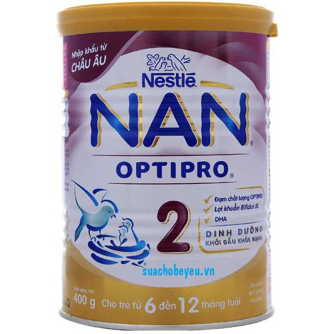 Sữa bột Nan OPTIPRO 2 400g ( 0_12 tháng tuổi ) - 10072778 , 349965949 , 322_349965949 , 195000 , Sua-bot-Nan-OPTIPRO-2-400g-0_12-thang-tuoi--322_349965949 , shopee.vn , Sữa bột Nan OPTIPRO 2 400g ( 0_12 tháng tuổi )