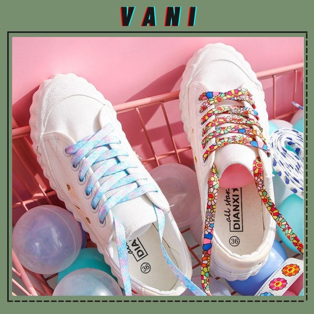 140cm Dây Giày Thể Thao Nhiều Họa Tiết Khác Nhau - Vani Store