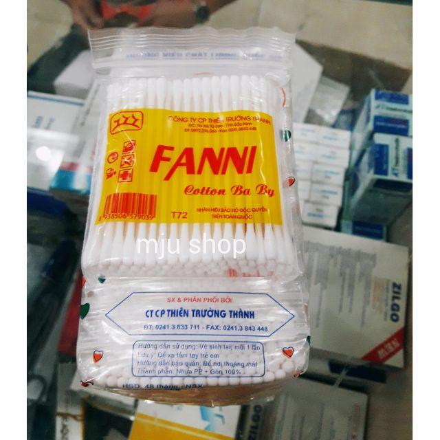 Tăm bông trẻ em Fanni bịch 12 túi