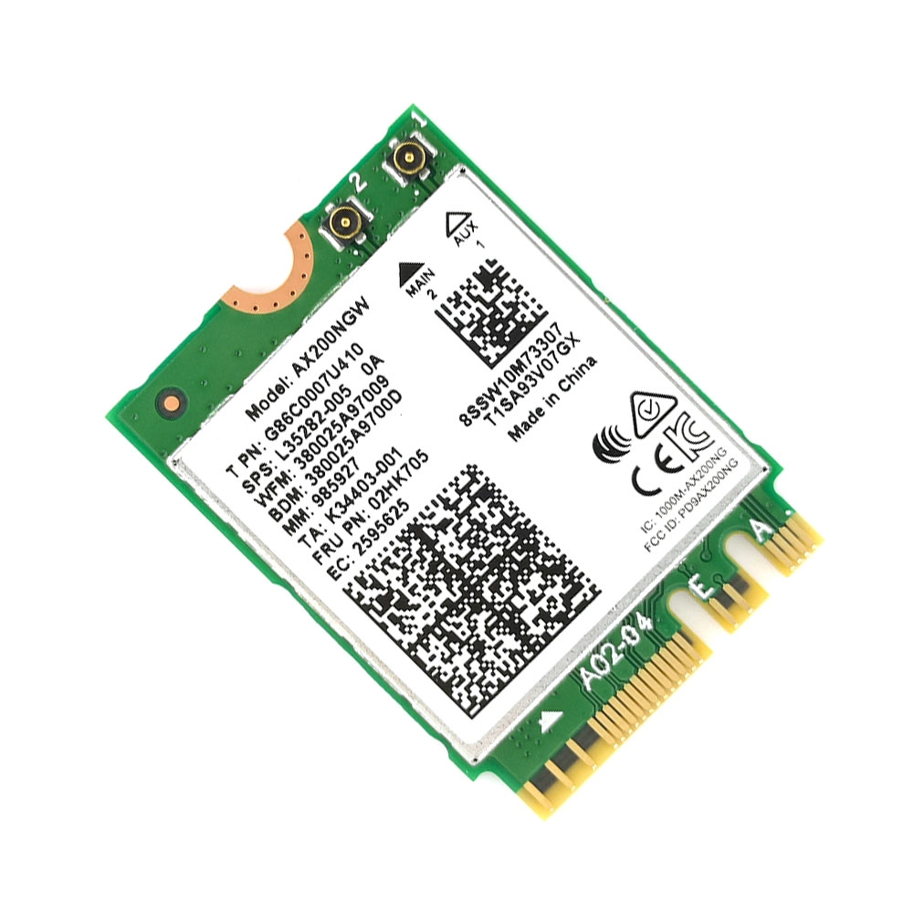 High Speed Dual Band Wireless Network Card Built-in Detachable For Intel AX200 Better 9260