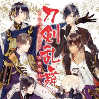 Anthology Touken Ranbu gốc Nhật