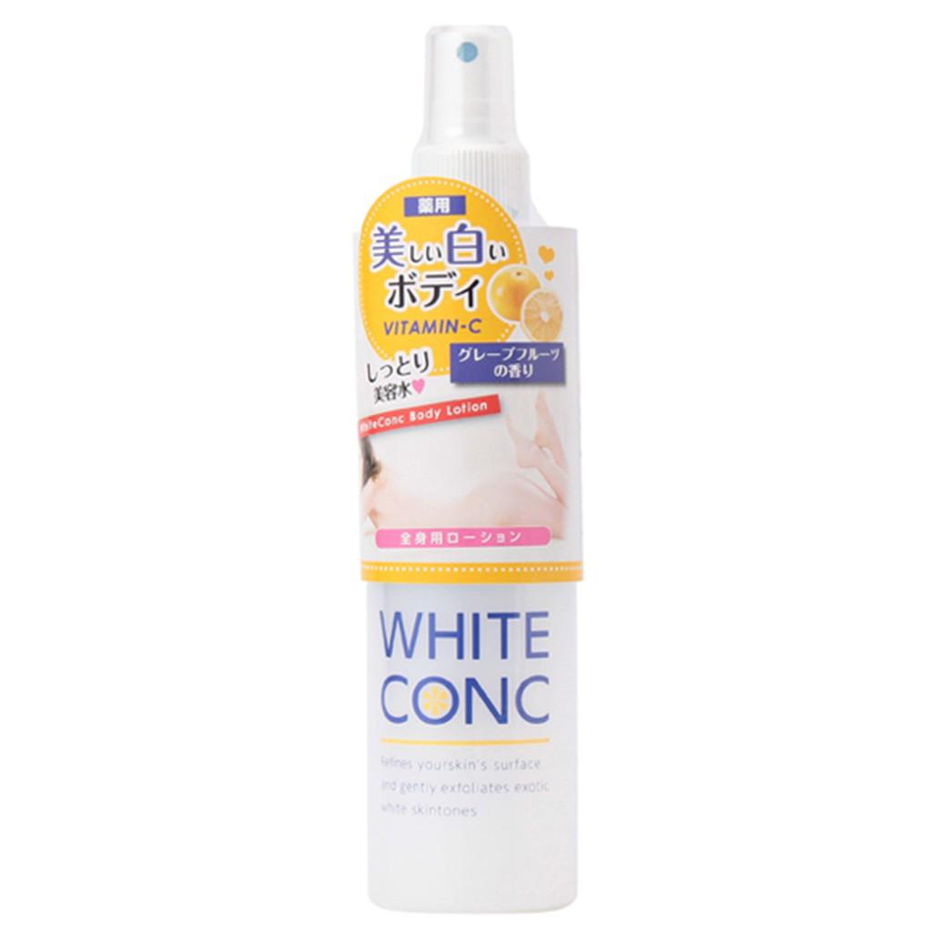 Xịt dưỡng trắng da toàn thân White Conc Body Lotion 245ml