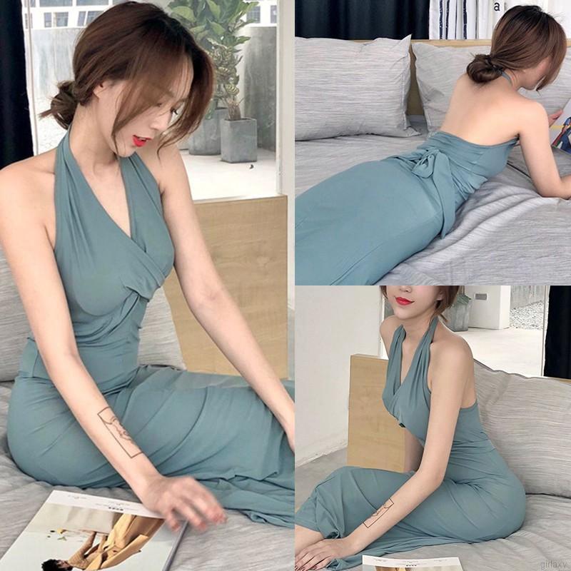 Mặc gì đẹp: Sang chảnh với  Đầm Dự Tiệc Cổ Chữ V Hở Lưng Quyến Rũ Thanh Lịch Cho Nữ