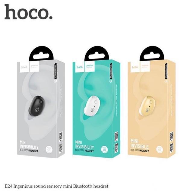 [Hot] Tai nghe cảm ứng E24_HOCO 4.1 ISSC Ingenious Sound Super Mini Wireless Handsfree Headset  [Hot] - 14018426 , 1932646540 , 322_1932646540 , 630000 , Hot-Tai-nghe-cam-ung-E24_HOCO-4.1-ISSC-Ingenious-Sound-Super-Mini-Wireless-Handsfree-Headset-Hot-322_1932646540 , shopee.vn , [Hot] Tai nghe cảm ứng E24_HOCO 4.1 ISSC Ingenious Sound Super Mini Wirele
