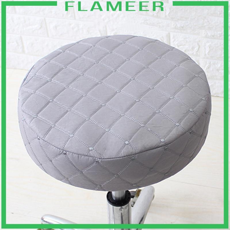40cm Pu Round Bar Stool Cover Chair, Round Bar Chair Cushions