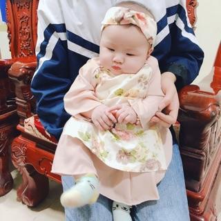 Áo dài lụa cho bé từ 5-12kg