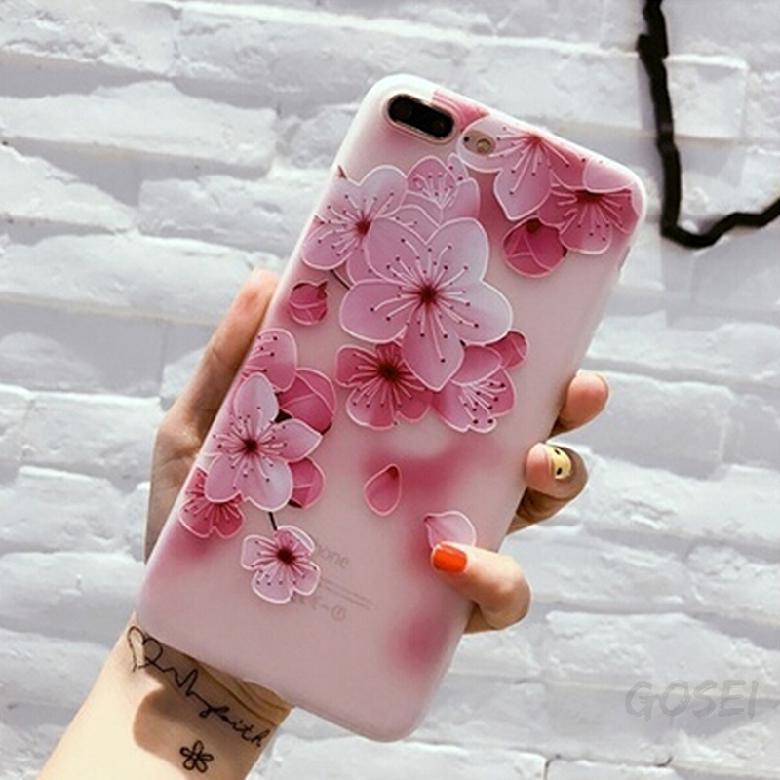 Art iPhone Mobile Shell ซิลิโคนนูน Apple 7 Cover Scrub Case 605 โทรศัพท์มือถือ