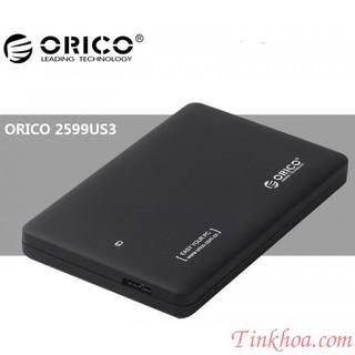 Box HDD 2.5 Orico 2599US3 USB 3.0,Hộp đựng ổ cứng chính hãng.