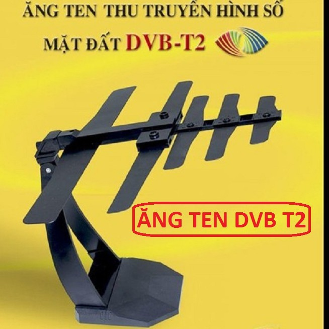 ANTEN Tivi Kỹ Thuật Số DVB T2 Model 102 HONJIDA - ANTEN DVB T2 - Ăng ten tivi trong nhà DVB T2 - MUA NHIỀU GIẢM GIÁ