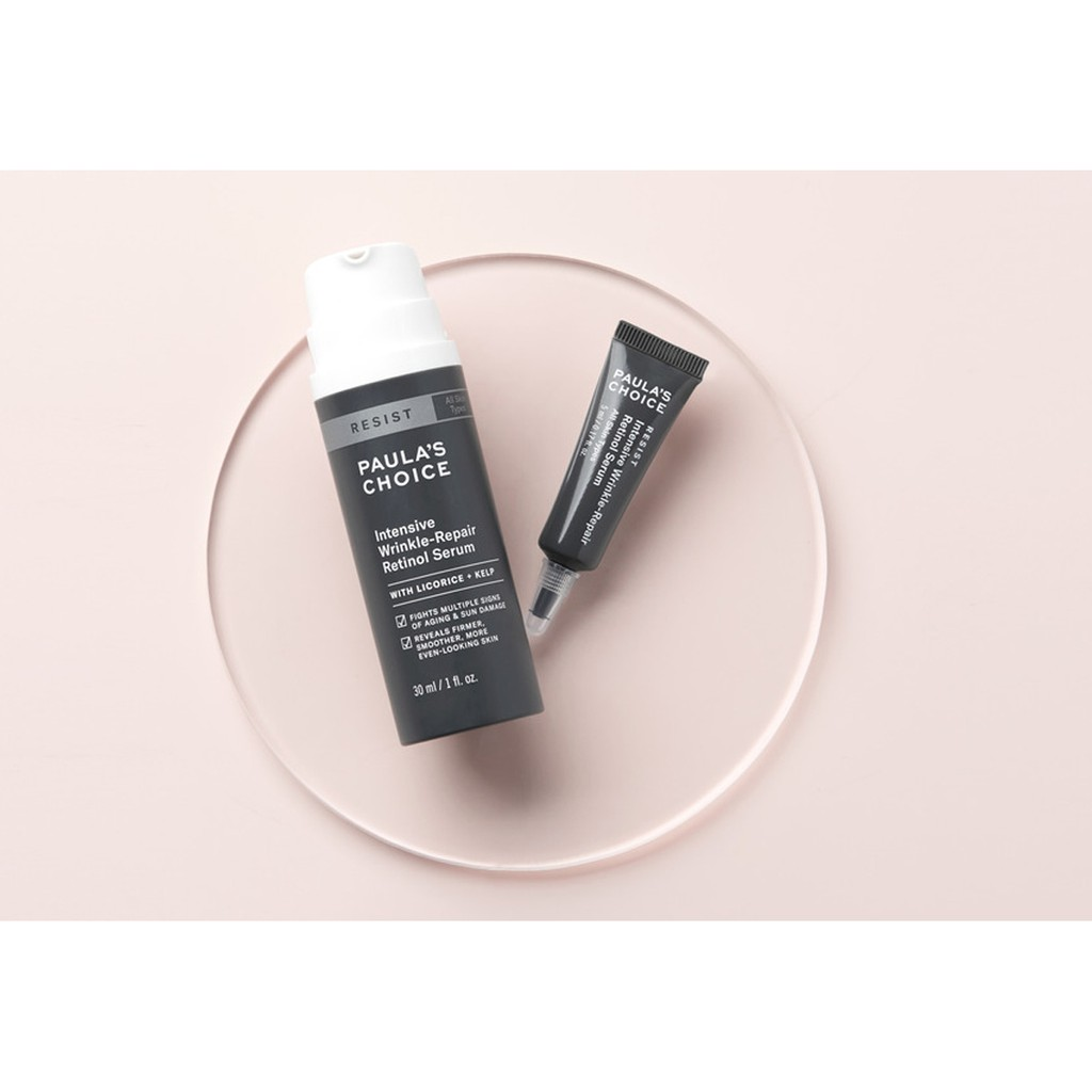 Serum Paula's Choice Retinol Resist Intensive Wrinkle Repair Retinol Serum  5ml | Shopee Việt Nam