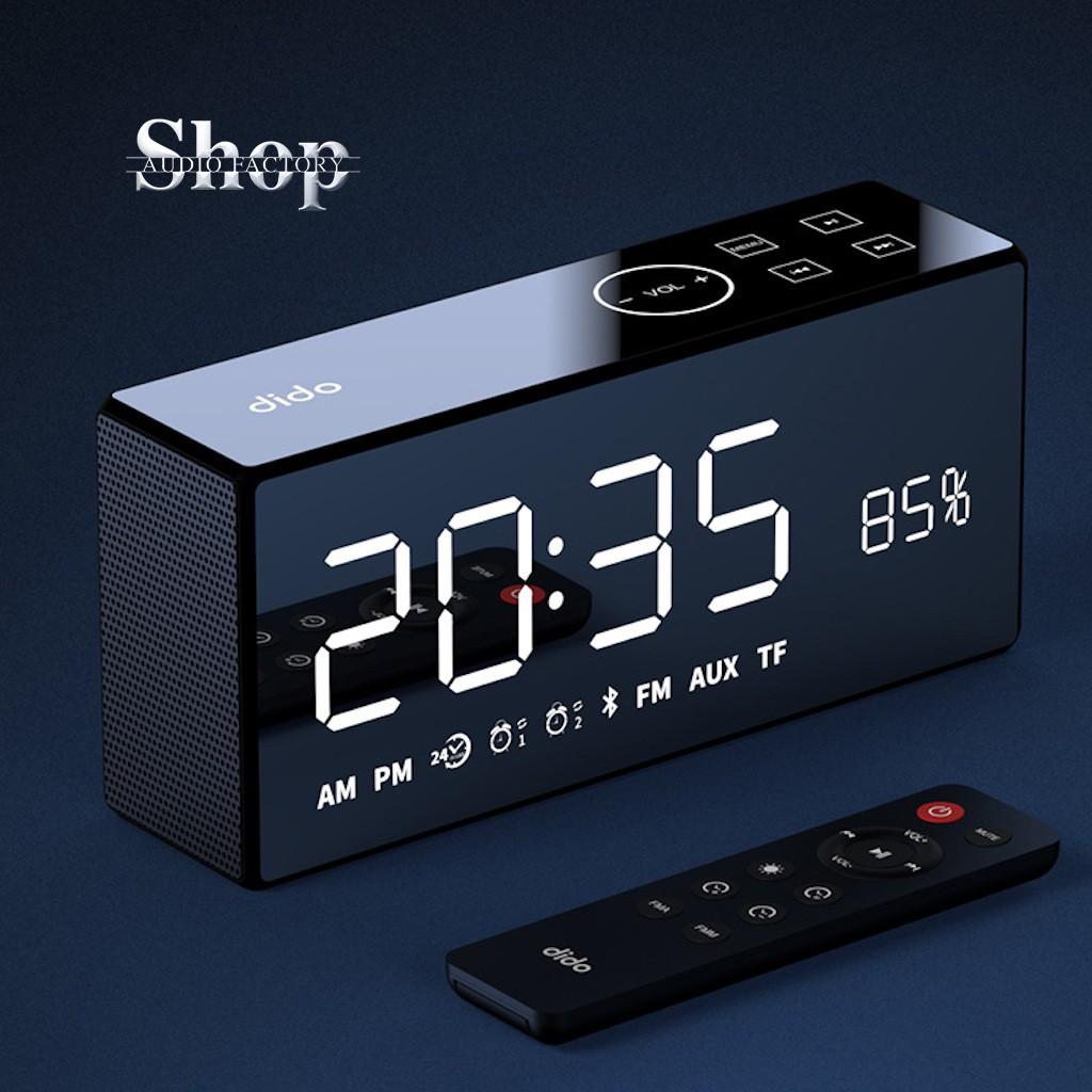 🔥Loa bluetooth FM🔥 thẻ TF SD  Remote điều khiền loa từ xa - AUX 3.5mm - hiển thị % pin - đồng hồ Led - model dido x9..
