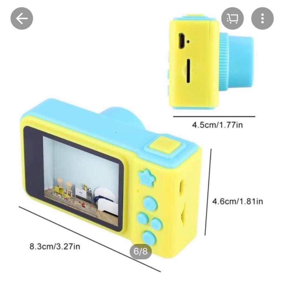 máy ảnh cho bé