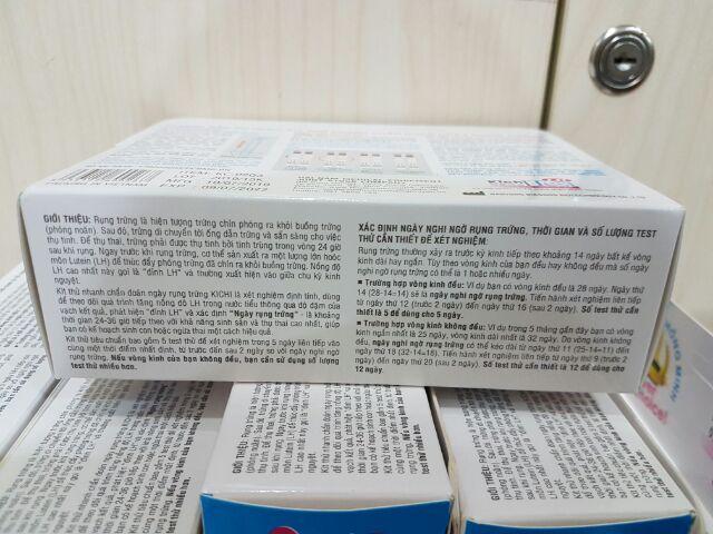 Que thử rụng trứng Kichi Test (hộp 7 que)