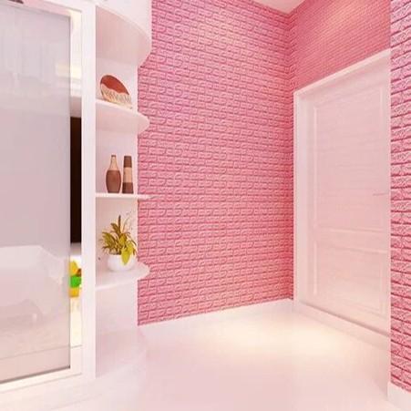 Xốp Dán Tường 3D Khổ 70x77CM Chống Ẩm Giá Rẻ