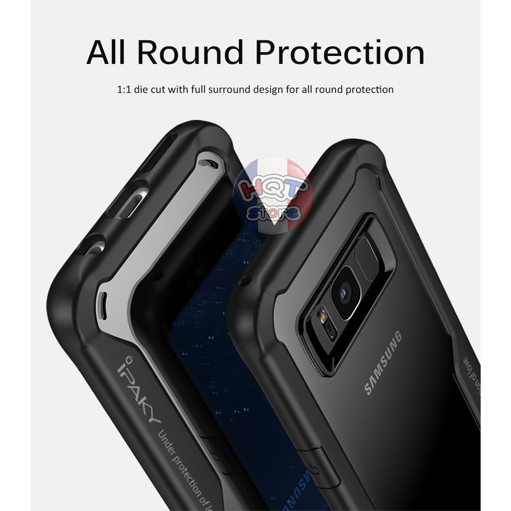 Ốp lưng chống shock Galaxy Super Series Ipaky cho S8 / S8 Plus / Note 9 / Note 8 / S9 / S9 Plus