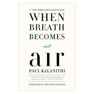 Sách Ngoại Văn When Breath Becomes Air (Phiên bản Tiếng Anh) thumbnail