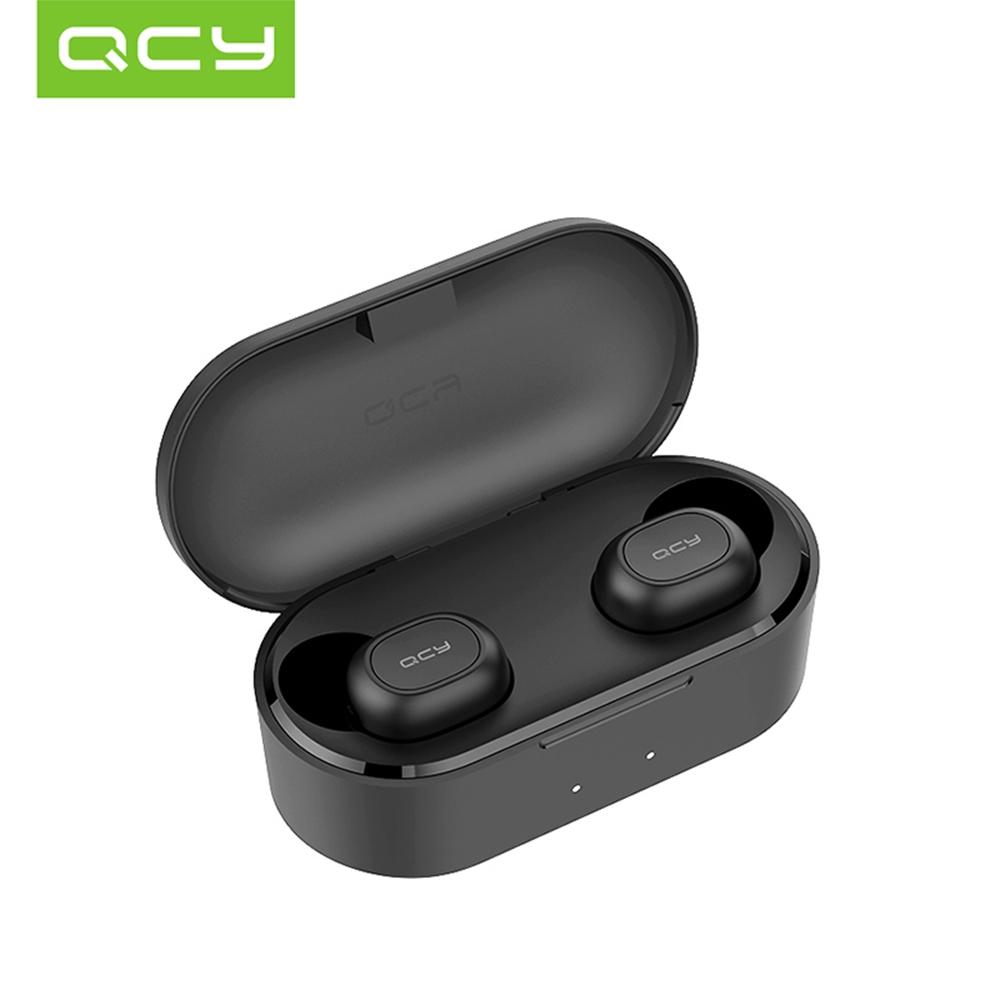 Tai nghe QCY T2C Bluetooth 5.0 không dây giảm tiếng ồn với Mic cho Android/iPhone