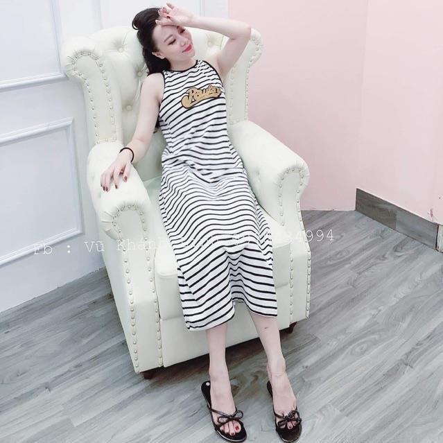 Váy kẻ PAU ZXK577