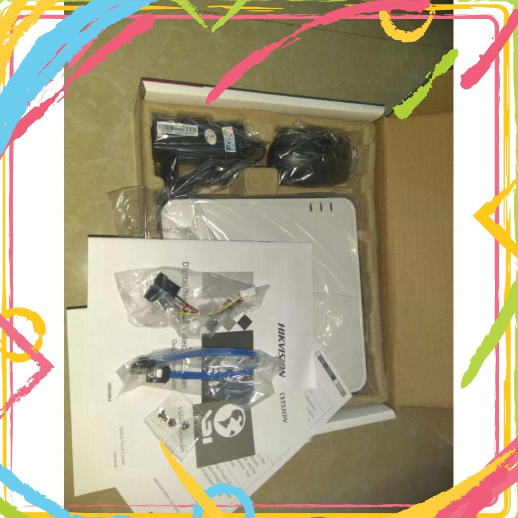 💚 Đầu ghi hình 4 kênh Turbo HD 4.0 Hikvision DS-7104HQHI-K1 - Hàng chính hãng®