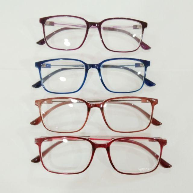 แว่นตาพลาสติก หยืดหยุ่นดีน้ำหนักเบาสามารถเปลี่ยนเลนส์สายตาได้
