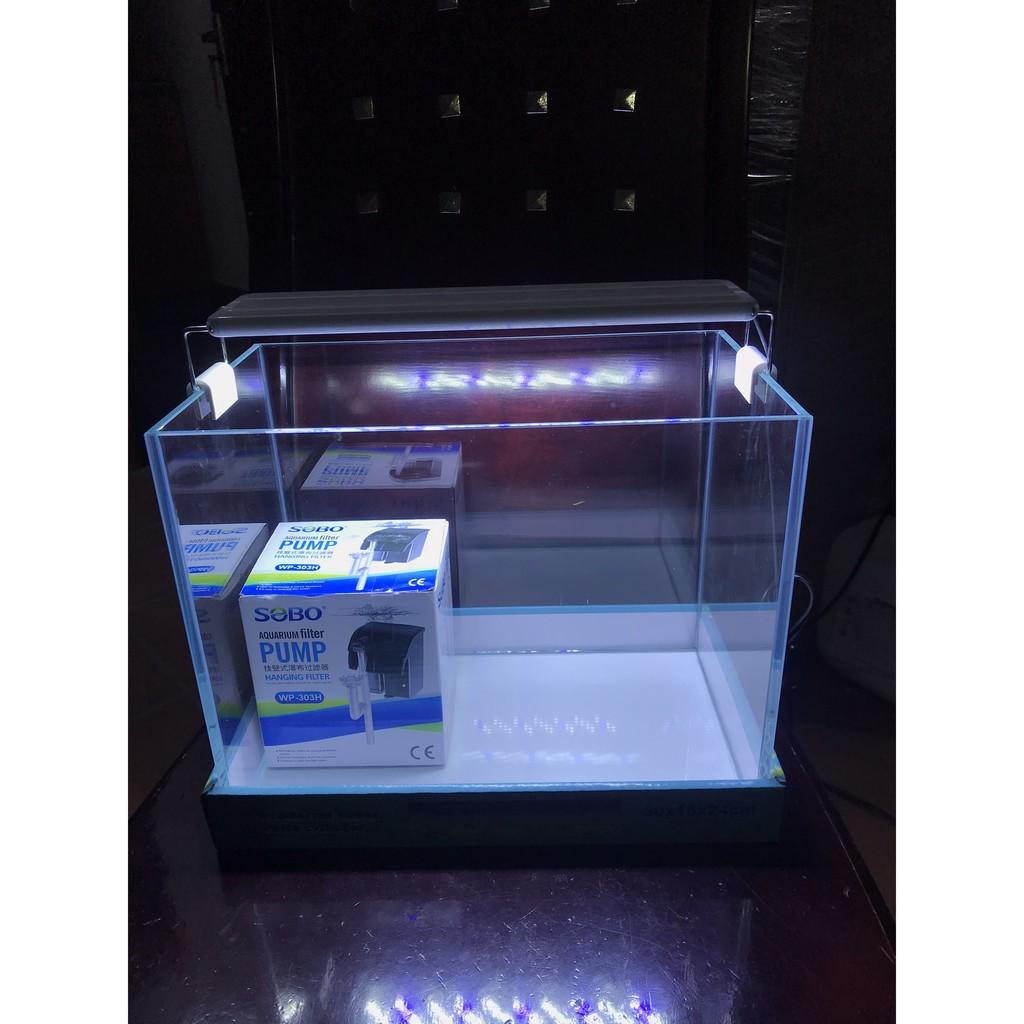 Đèn led bể cá GX-K300 Ánh Sáng Trắng - LED Cho Bể Thủy Sinh - Bể Cá Cảnh  30-40cm giá cạnh tranh